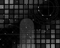 Composizione astratta in tecnologia Immagini Stock Libere da Diritti