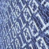 Composizione binaria nell'estratto di strato Immagine Stock