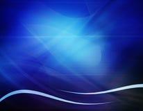 Composizione blu astratta Fotografie Stock Libere da Diritti