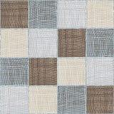 Composizione checkered in miscuglio della trapunta senza cuciture Fotografia Stock Libera da Diritti