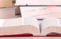 Composizione con i libri Immagini Stock Libere da Diritti