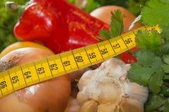 Composizione con le verdure organiche crude assortite Fotografia Stock Libera da Diritti