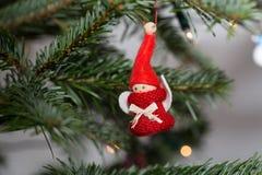 Composizione dall'albero di Natale Fotografia Stock