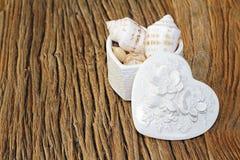 Composizione decorativa in amore di estate Fotografia Stock