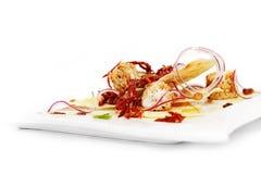 Composizione degli alimenti italiana deliziosa Immagine Stock