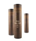 Composizione dei contenitori del tubo della bomba del mortaio Fotografia Stock Libera da Diritti