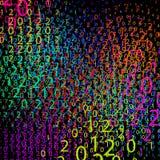 Composizione dei numeri, vettore Immagini Stock Libere da Diritti
