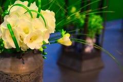 Composizione del fiore di alstroemeria giallo Immagini Stock Libere da Diritti