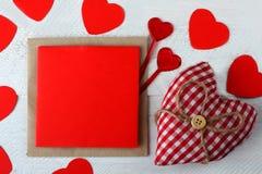 Composizione del San Valentino Fotografia Stock
