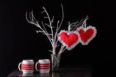 Composizione del San Valentino Immagine Stock