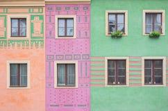 Composizione delle finestre Immagine Stock