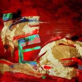 Composizione di arte di fondo astratto Fotografia Stock Libera da Diritti