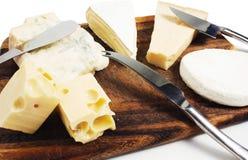 Composizione di formaggio Fotografie Stock
