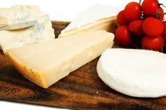 Composizione di formaggio Fotografia Stock Libera da Diritti