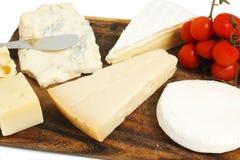Composizione di formaggio Immagini Stock