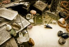 Composizione esoterica Fotografia Stock
