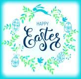 Composizione felice in Pasqua Immagine Stock Libera da Diritti