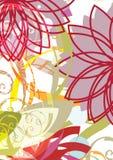 Composizione floreale illustrazione vettoriale