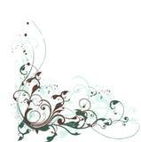 Composizione floreale in Grunge illustrazione vettoriale