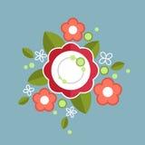 Composizione floreale variopinta decorativa Fotografia Stock Libera da Diritti