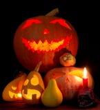 Composizione in Halloween Fotografia Stock