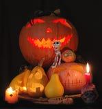 Composizione in Halloween Fotografie Stock Libere da Diritti