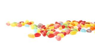 Composizione multipla nei dolci della caramella del fagiolo di gelatina Fotografia Stock Libera da Diritti