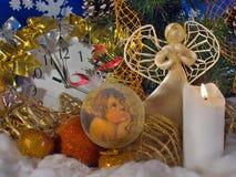 Composizione in Natale (1) Immagini Stock