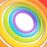 Composizione nel fondo degli anelli multipli Fotografia Stock