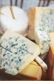 composizione nel formaggio Fotografia Stock
