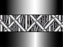 Composizione nel metallo Immagini Stock