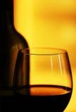 Composizione nel vino rosso Fotografie Stock