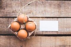 Composizione nella foto delle uova di Pasqua Immagini Stock