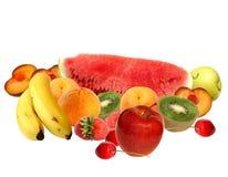 Composizione nella frutta Fotografie Stock