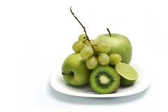 Composizione nella frutta Fotografia Stock