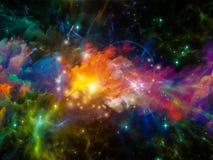 Composizione nella nebulosa Immagini Stock