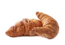 Composizione nella pasticceria del croissant Immagine Stock Libera da Diritti