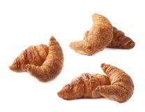 Composizione nella pasticceria del croissant Fotografia Stock