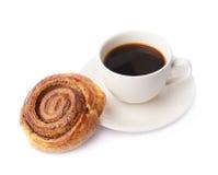 Composizione nella pasticceria e nella tazza di caffè Immagini Stock