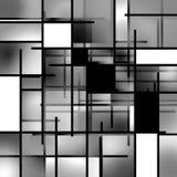 Composizione rettangolare nella priorità bassa Fotografie Stock