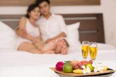 Composizione romantica Fotografia Stock