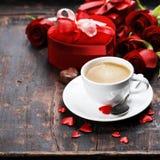 Composizione in San Valentino immagine stock libera da diritti