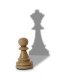 Composizione in scacchi fotografia stock libera da diritti