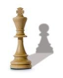 Composizione in scacchi fotografia stock