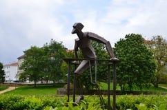 Composizione scultorea moderna Immagini Stock Libere da Diritti