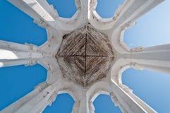 Composizione simmetrica nelle colonne Fotografia Stock Libera da Diritti