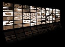 Composizione in tecnologia ed in affari Fotografia Stock