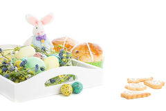 Composizione tradizionale in Pasqua Fotografia Stock