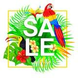 Composizione tropicale in vendita Fotografie Stock Libere da Diritti