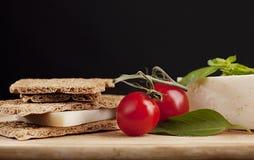 Composizione vegetariana Fotografia Stock Libera da Diritti
